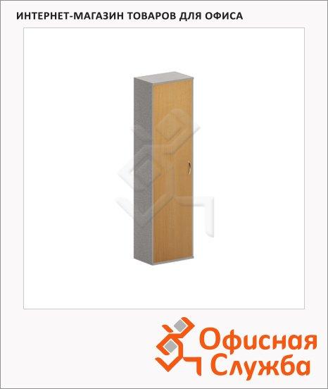 Гардероб Skyland Imago ГБ-1, 550х365х1975мм, клен/металлик
