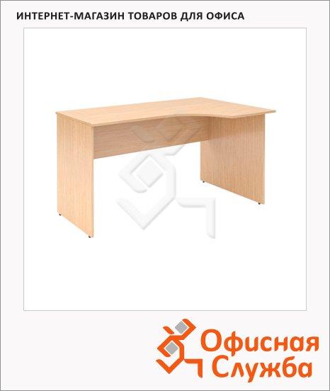 Стол письменный Skyland Simple SE-1600, эргономичный, правый, 1600х900х760мм, легно светлый