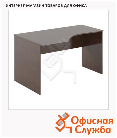 фото: Стол письменный Skyland Simple SE-1600 эргономичный, левый, 1600х900х760мм, легно темный
