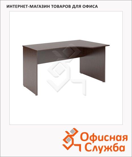 Стол письменный Skyland Simple SE-1600, эргономичный, правый, 1600х900х760мм, легно темный