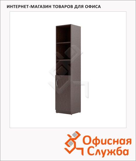 Шкаф-колонка Skyland Simple SR-5U.5, правый, 386х375х1815мм, легно темный