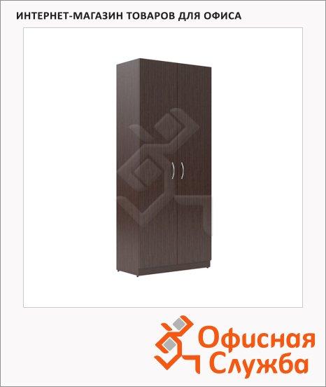 Шкаф Skyland Simple SR-5W.1, 770х375х1815мм, с глухими дверьми, легно темный