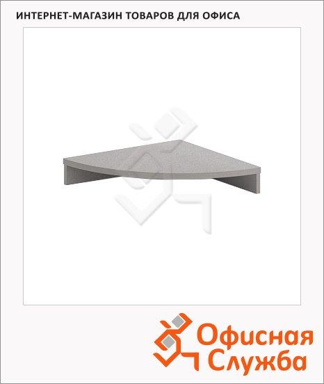 Подставка под монитор Skyland Imago ПМ-1, 550х550х100мм, металлик