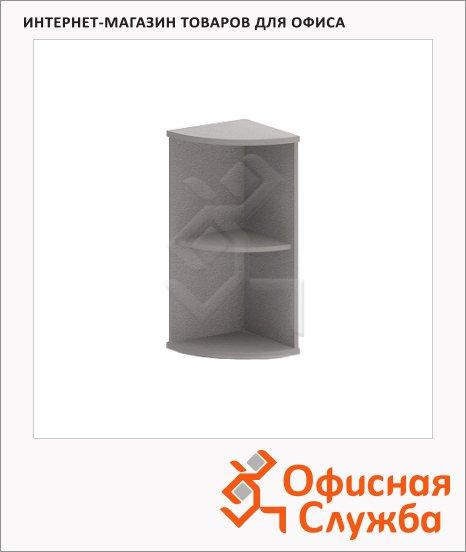 Стеллаж угловой Skyland Imago УС-3, 365х365х823мм, металлик