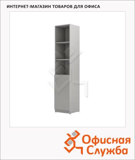 Шкаф-колонка Skyland Simple SR-5U.5, правый, 386х375х1815мм, серый