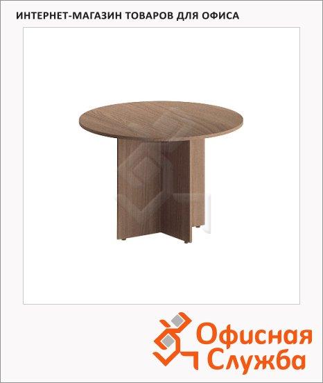 Стол переговорный Skyland Imago ПРГ-1, круглый, d=1100мм, ясень шимо
