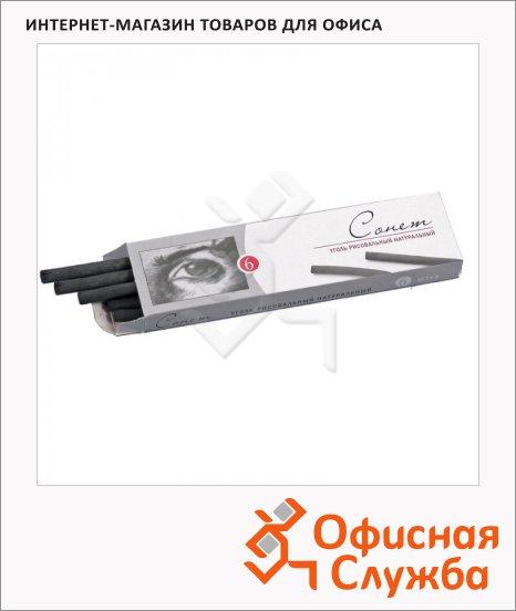 фото: Уголь для рисования Невская Палитра Сонет натуральный 170мм, 6-8мм