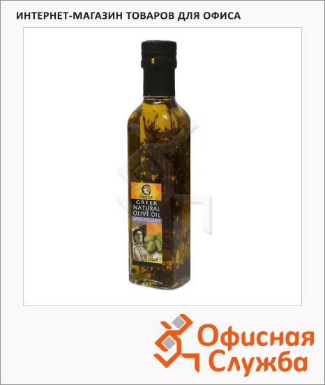 Масло оливковое Gaea нерафинированное, с орегано, 0.25л