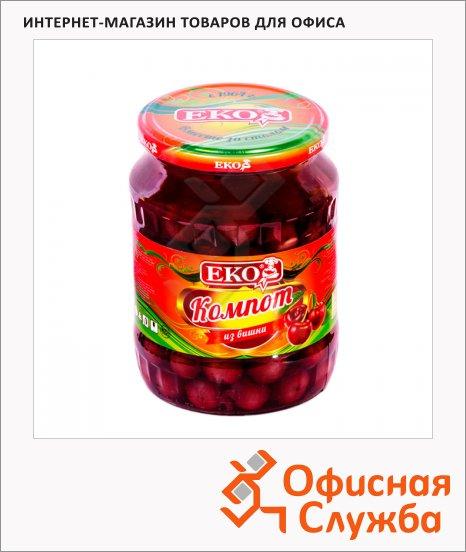Консервированные фрукты Еко компот из сливы, 720мл