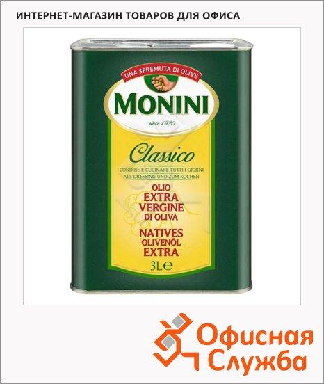 Масло оливковое Monini Extra Virgin нерафинированное, 3л