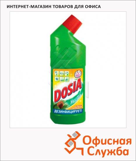 Чистящее средство для унитаза Dosia 0.75л, гель, хвоя