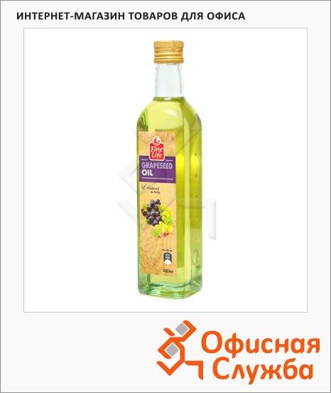 Масло растительное Fine Life из виноградных косточек, 0.5л