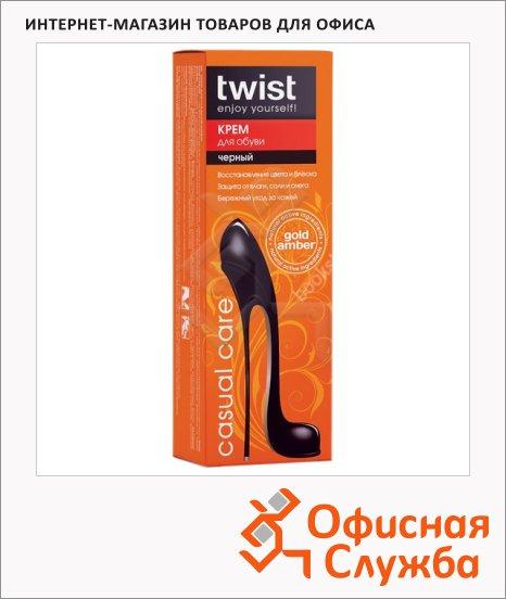 фото: Крем для обуви Twist черный 75мл