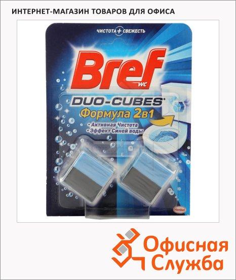 Освежитель для унитаза Bref 50г+50г, duo-cubes