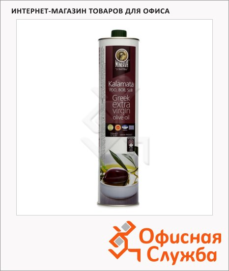 фото: Масло оливковое Minerva Extra Virgin Каламата нерафинированное 750мл