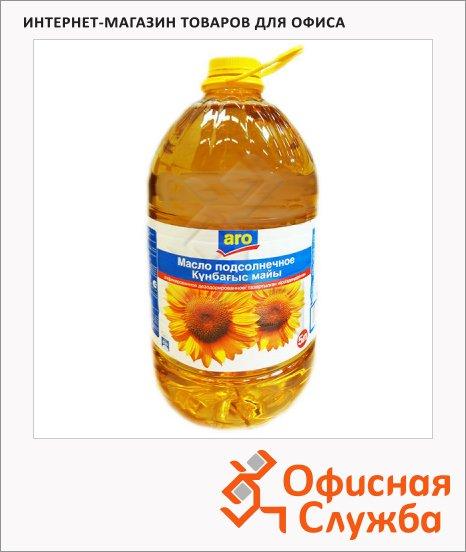 Масло растительное Aro рафинированное дезодорированное, 5л