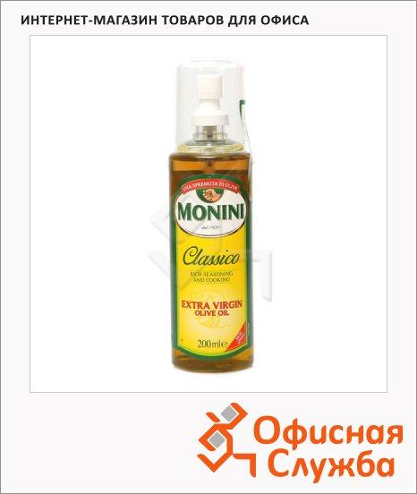 Масло оливковое Monini Extra Virgin нерафинированное, спрей, 0.2л