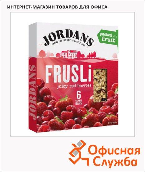 Батончик мюсли Jordans сочные ягоды, 6шт х 30г