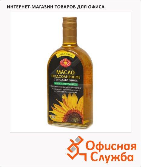 Масло растительное Golden Kings Of Ukraine сыродавленное, 0.5л