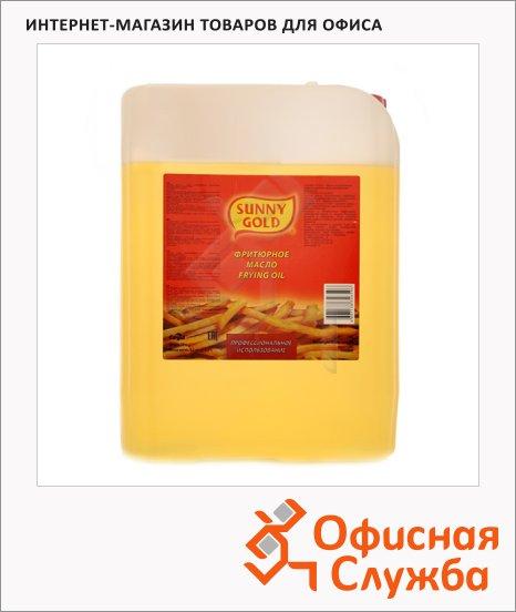 фото: Масло растительное Sunny Gold для фритюра смесь рафинированных масел 10л
