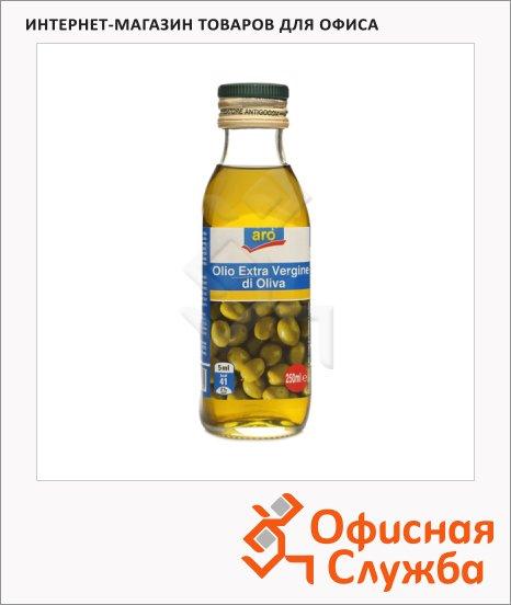 Масло оливковое Aro Extra Virgin нерафинированное, 0.25л