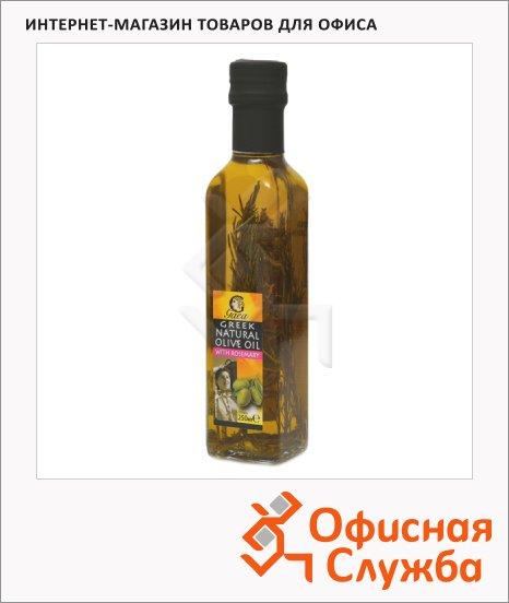 Масло оливковое Gaea нерафинированное, с розмарином, 0.25л
