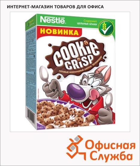 фото: Готовый завтрак Cookie Crisp шоколадные печенюшки 345г