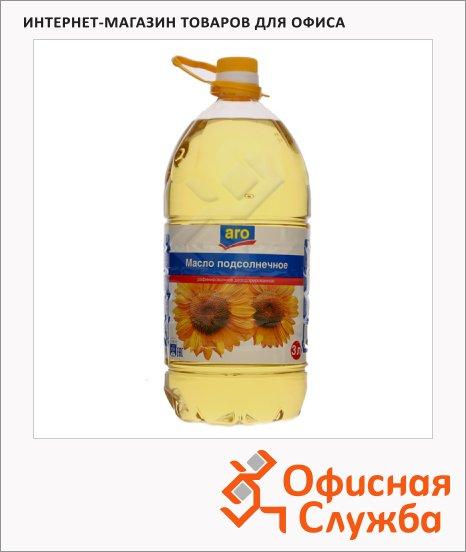 Масло растительное Aro рафинированное дезодорированное, 3л