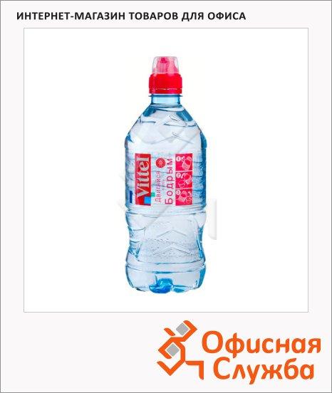 Вода минеральная Vittel Спорт без газа, ПЭТ, 0.33л