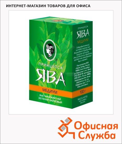 Чай Принцесса Ява Жасмин Медиум, зеленый, листовой, 100 г