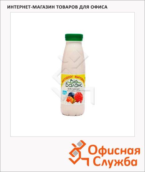 Йогурт питьевой Bio Баланс 1.5% малина-черника-морошка, 330г