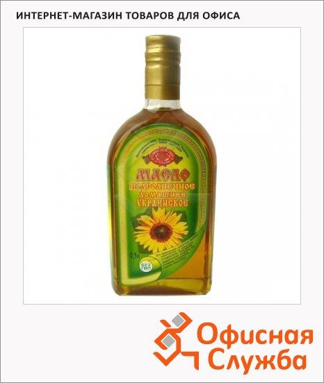 Масло растительное Golden Kings Of Ukraine домашнее, 0.5л