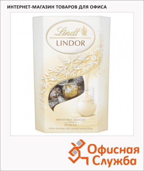 Конфеты Lindt Lindor белый шоколад, 200г