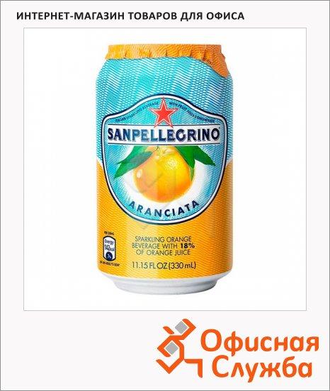 фото: Напиток газированный апельсин ж/б, 0.33л х 6шт