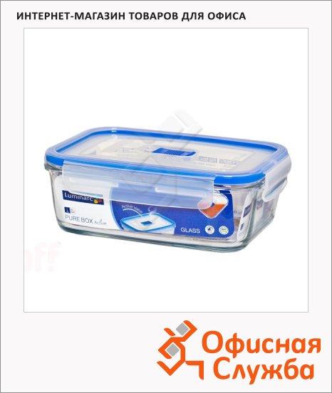 Контейнер герметичный Luminarc Purebox 0.82л, стекло, крышка с клапаном