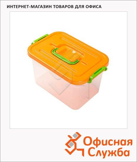 Ящик для хранения Полимербыт пластиковый, 310х200х180мм, 6.5л