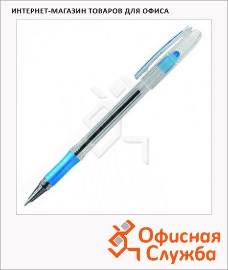 фото: Ручка шариковая Berlingo I-10 синяя 0.2мм, грип