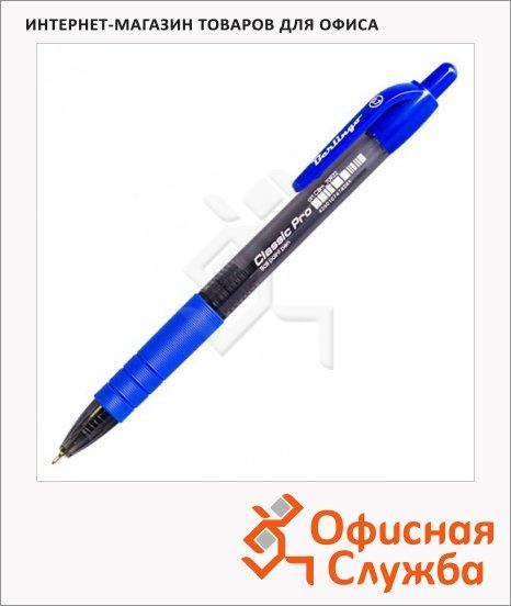 Ручка шариковая автоматическая Berlingo Classic Pro синяя, 0.32мм