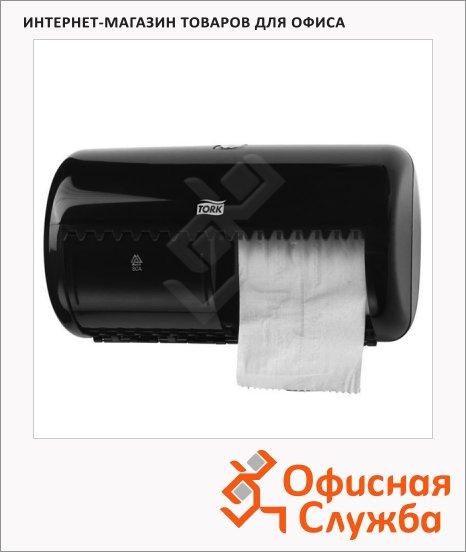 Диспенсер для туалетной бумаги в рулонах Tork Elevation 557008, черный, 28.6х16х15.3 см