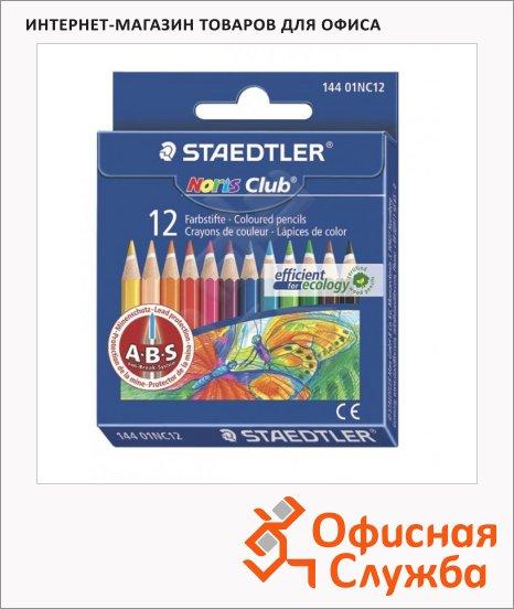 Набор цветных карандашей Staedtler NorisClub 12 цветов, 14401NC1210