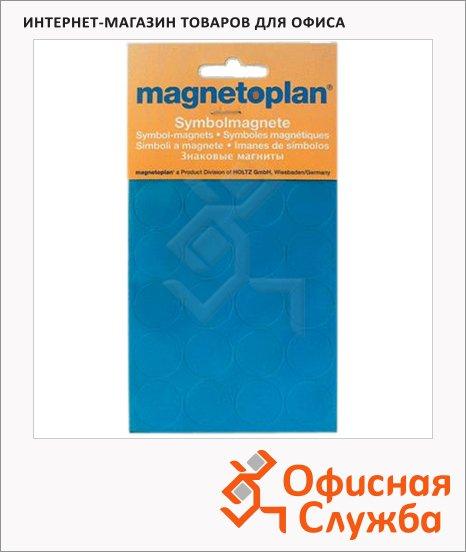 фото: Магниты Magnetoplan d=15мм 30шт/уп, синие