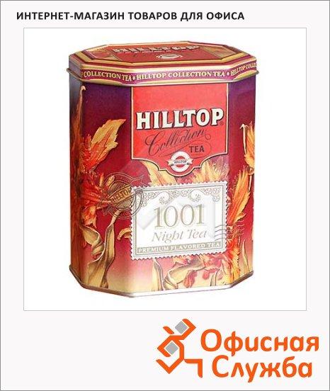 Чай Hilltop 1001 Ночь, черный с зеленым, листовой, 100г, ж/б