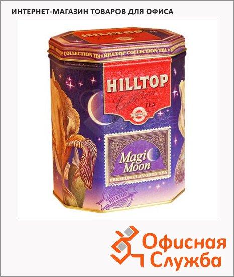 Чай Hilltop Волшебная Луна, черный с зеленым, листовой, 100г, ж/б