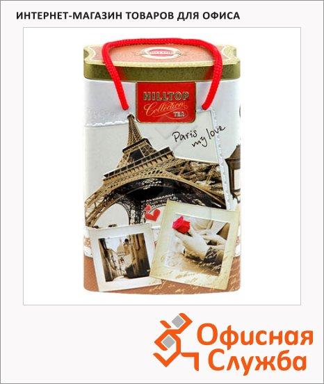 Чай Hilltop Парижские каникулы Королевкое золото, черный, листовой, 125г, ж/б