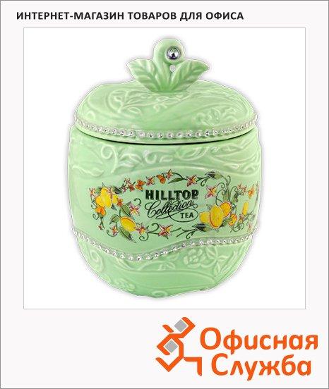 Чай Hilltop Яблоко Цитрусовая фантазия, черный, листовой, 80г, в чайнице