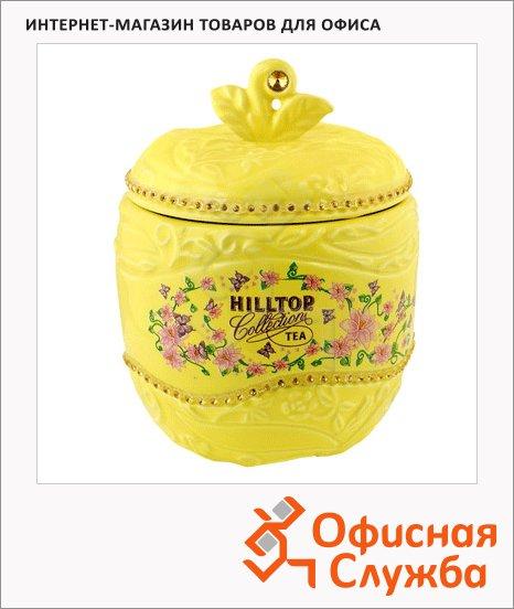 Чай Hilltop Яблоко с чабрецом, черный, листовой, 80г, в чайнице