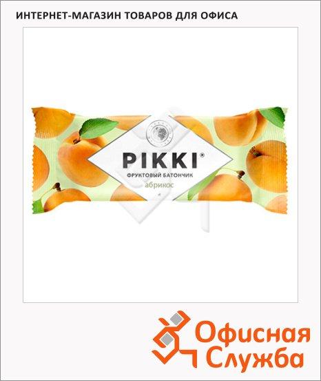 Батончик фруктовый Pikki абрикос, 25г