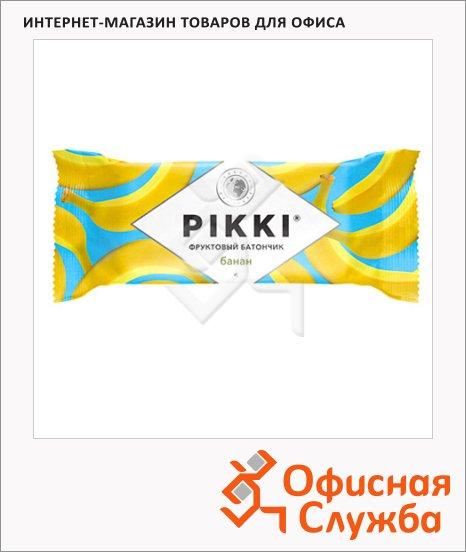 Батончик фруктовый Pikki банан, 25г