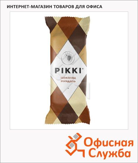 Батончик фруктово-ореховый Pikki миндаль и шоколад, 35г