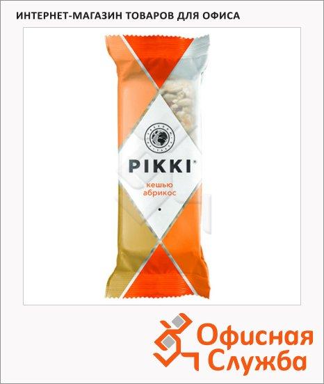 Батончик фруктово-ореховый Pikki кешью и абрикос, 35г